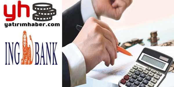 ıng bank ihtiyaç kredisi
