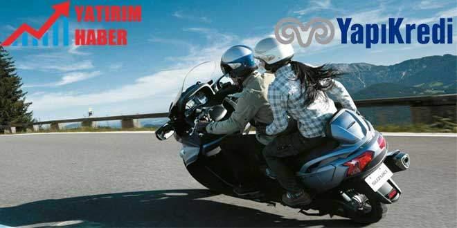 Yapı Kredi Bankası motosiklet kredisi 2019