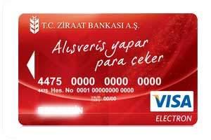 Ziraat Bankkart Hesap Numarası
