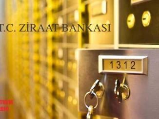 Ziraat Bankası kiralık kasa ücretleri