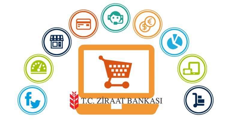 ziraat bankası e ticaret açma