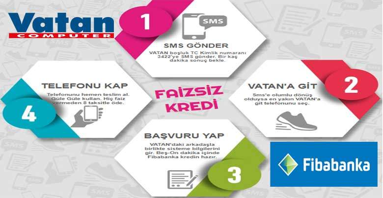 Fibabanka Taksitle Telefon Alma Kredisi 2019