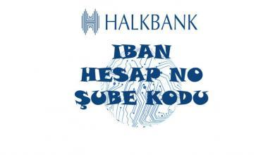 Halkbank iban sorgulama