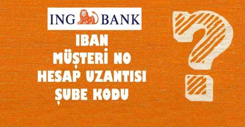 ing bank iban sorgulama