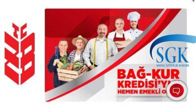 Ziraat Bankası Bağkur Emeklilik Kredisi 2019