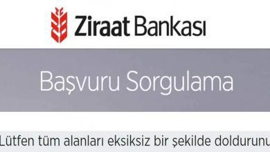 Photo of Ziraat Bankası Başvuru Takip – Sorgulama(Kredi-Kredi Kartı)