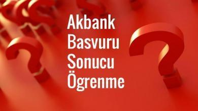 Photo of Akbank Kredi Kartı Başvuru Sorgulama (Başvuru Takip)