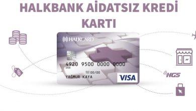 Photo of Halkbank Aidatsız Kredi Kartı (HalkCard)