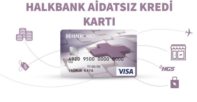 Halkbank Aidatsız Kart