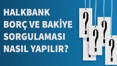 Halkbank Hesap Bakiye Sorgulama