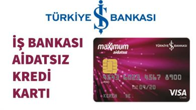 Photo of İş Bankası Aidatsız Kredi Kartı (Maximum)