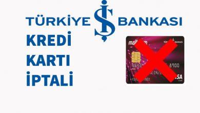 İş Bankası Kart İptali