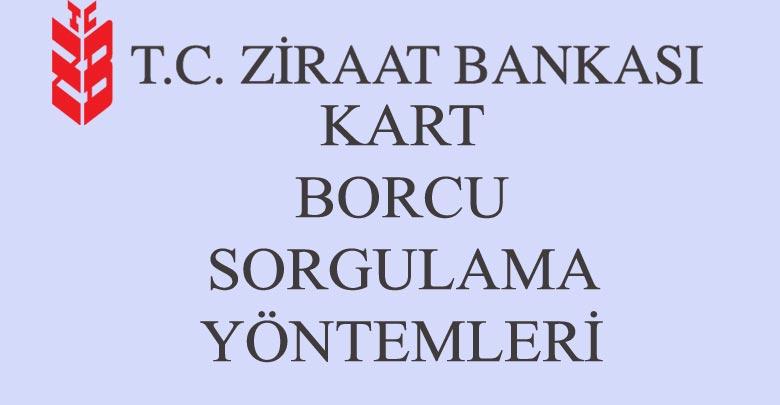 Ziraat Bankası Borç Sorgulama