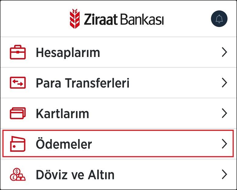 Ziraat Bankası Online Ödemeler 2020