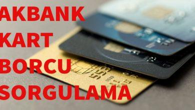 Photo of Akbank Axess Borç Öğrenme (Kredi Kartı Borcu Sorgulama)