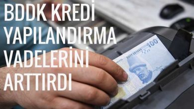 BDDK Kredi Yapılandırma 2019