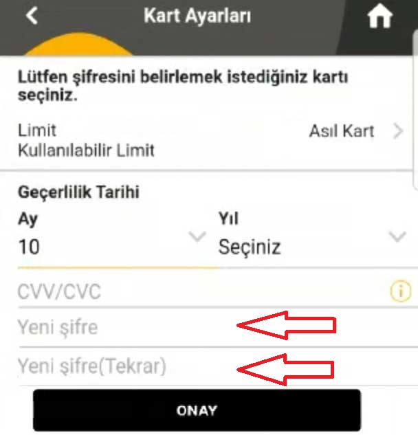 Vakıfbank Kart Şifresi Değiştirme