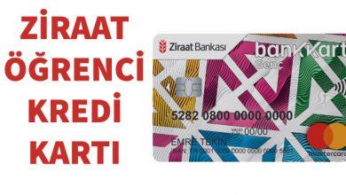 Photo of Ziraat Bankası Öğrenci Kredi Kartı (Ziraat Genç Kart)
