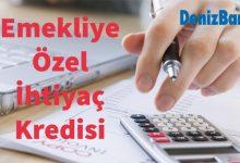Denizbank Emekli Kredisi 2019