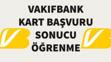 Photo of Vakıfbank Kredi Kartı Başvuru Sonucu Sorgulama (Takip Yöntemleri)
