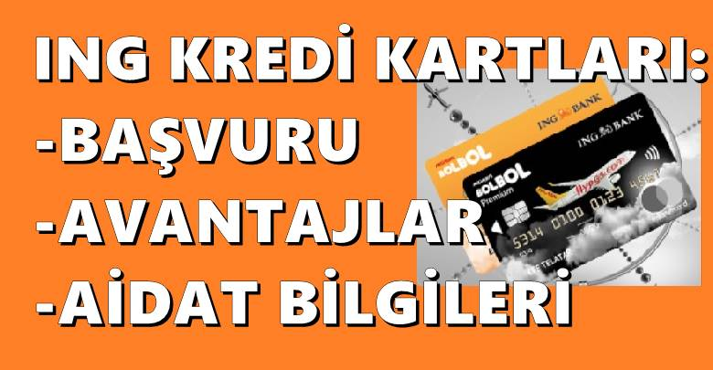 kredi karti basvurusu ing