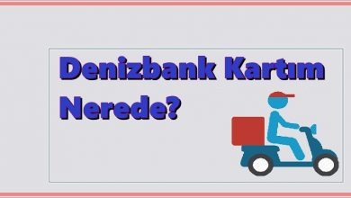 Photo of Denizbank Kredi Kartım Nerede?