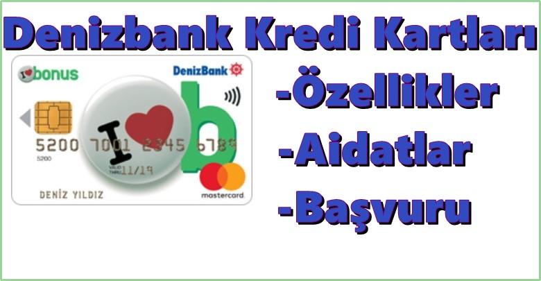 denizbank sms ile kredi kartı başvurusu nasıl yapılır
