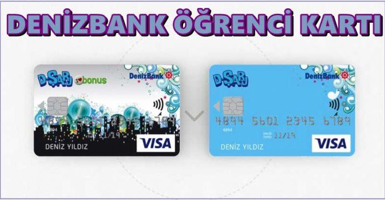 Denizbank Öğrenci Kredi Kartı