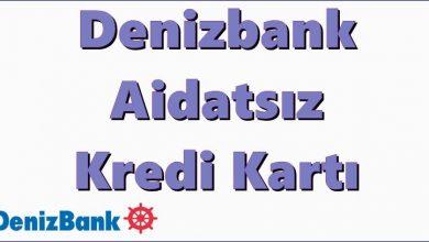 Photo of Denizbank Aidatsız Kredi Kartı (Net Kart)