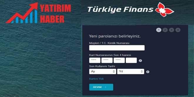 Türkiye Finans internet şubesi açma
