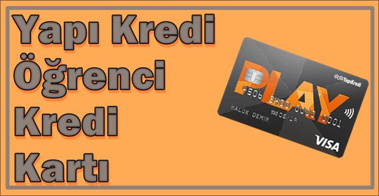 Yapı Kredi Öğrenci Kartı Play Kart