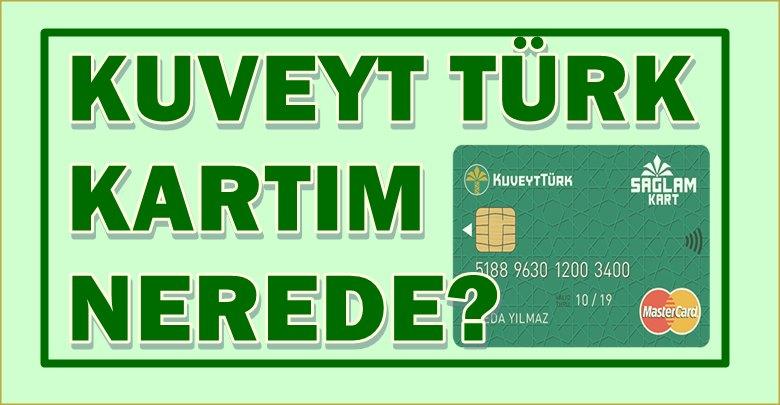 Kuveyt Türk Kurye Takip