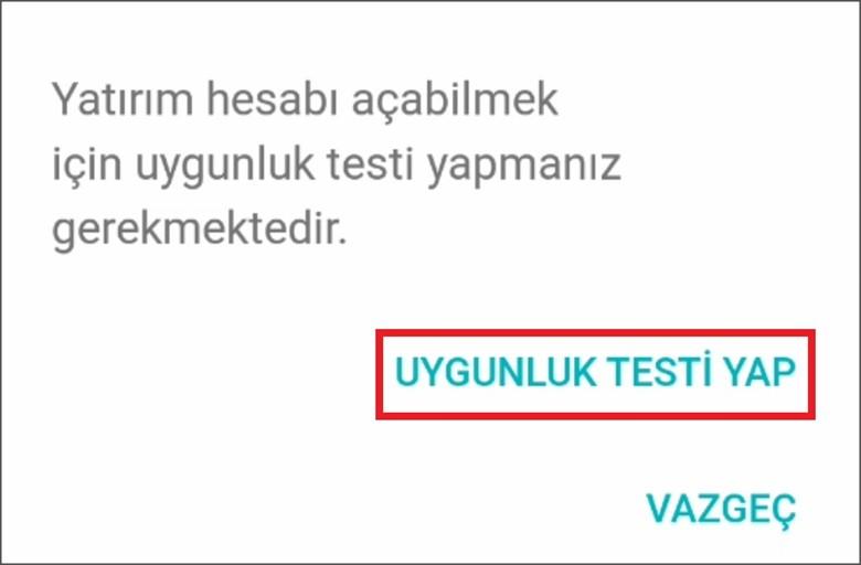 Kuveyt Türk Uygunluk Testi